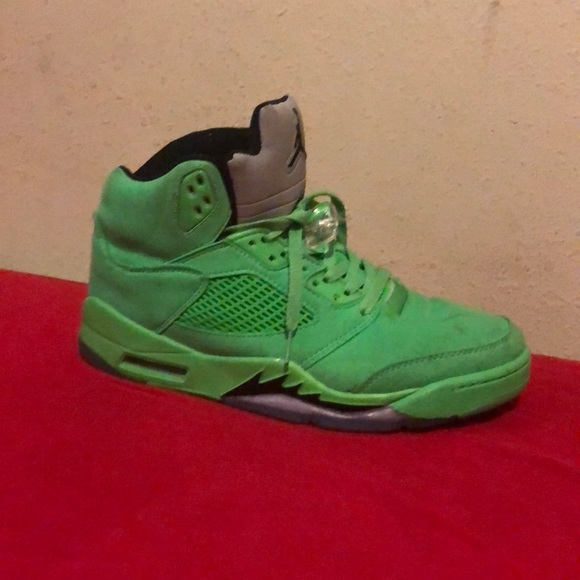separation shoes 416f4 e7265 Jordan 5 lime green